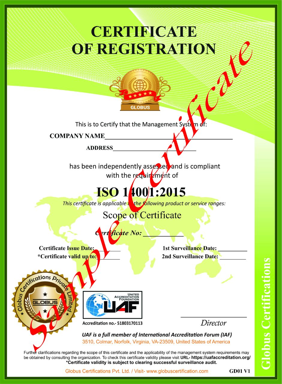iso certifications sample iso standard certificate samples in india